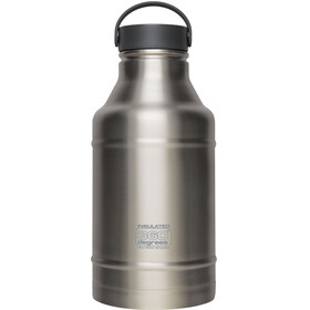 360° degrees Growler Borraccia 1800ml argento